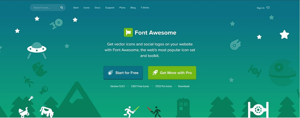 Font Awesome Free Icons Download