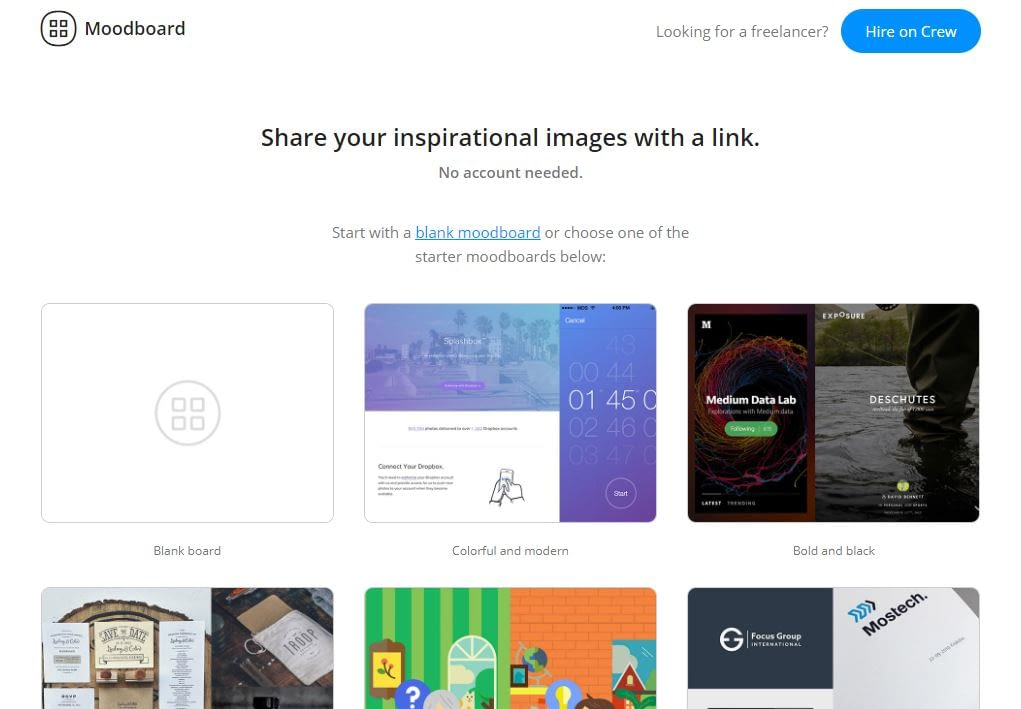 GoMoodBoard - Mood Board Maker