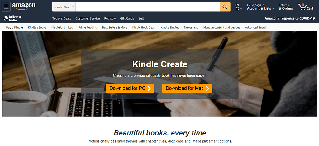 Kindle Publishing Programs