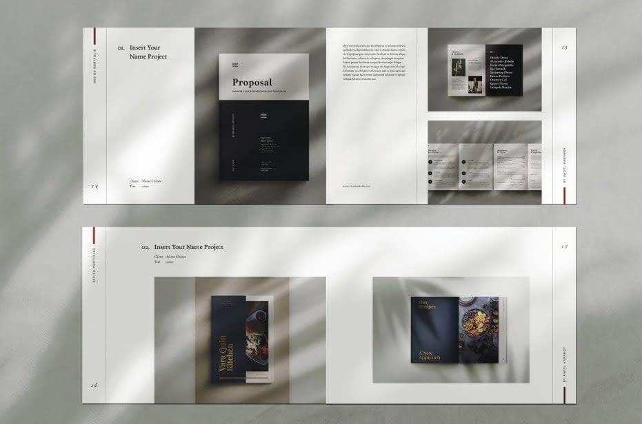 17. Graphic Design Portfolio by Occy Design min