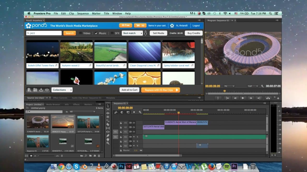 4th Adobe Premiere Pro up