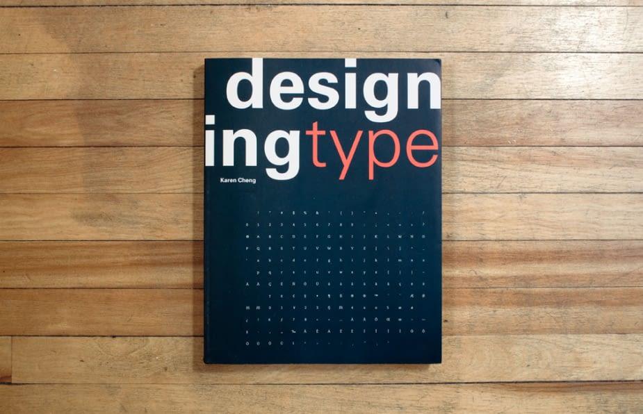 Designing Type Typography Books