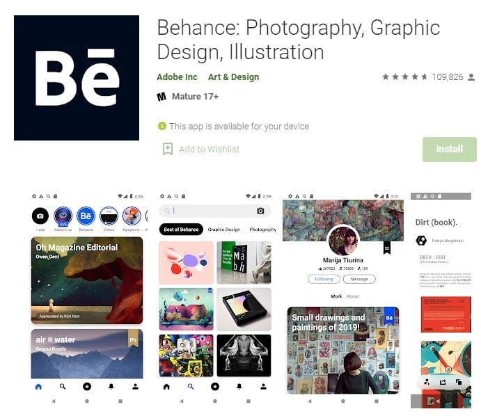 6. Behance Ready to help you create your projects min