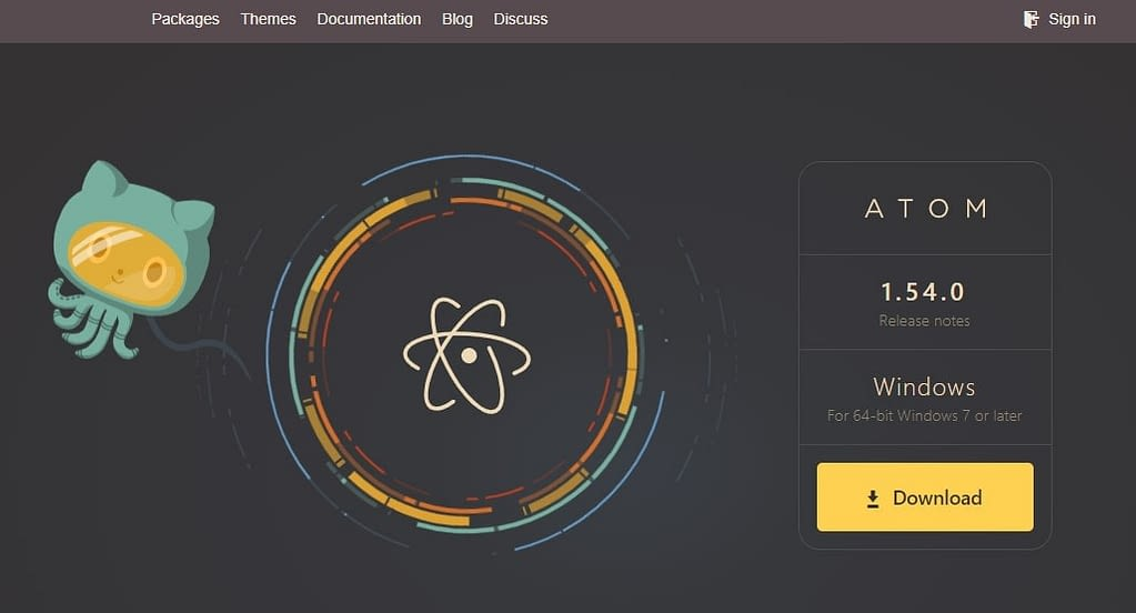 Atom from GitHub - Best JavaScript IDE and Code Editors