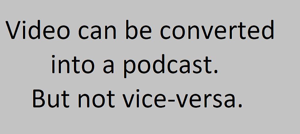 Vlog VS Podcast image - Webtopic