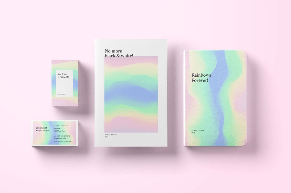 Gradient Backgrounds Gradients in Graphics Design