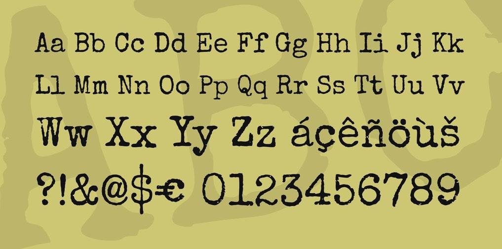 Special Elite Font min