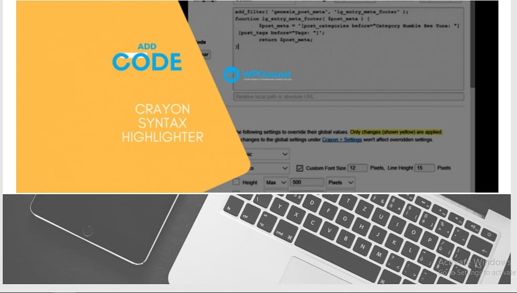 8th u Crayon Syntax Highlighter
