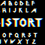 50 Impressive Distorted Fonts Will Bring WOW To Your Project
