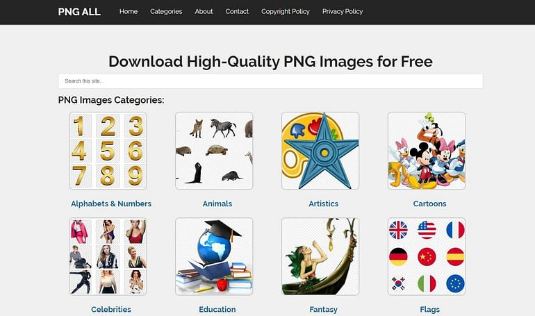 PNG All - Free PNG Image Download