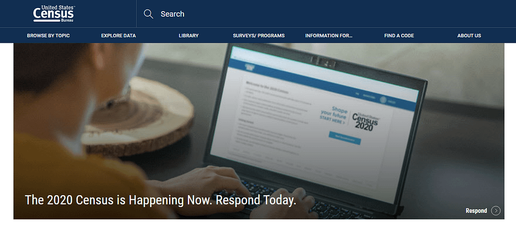 Social sciences US Census Bureau