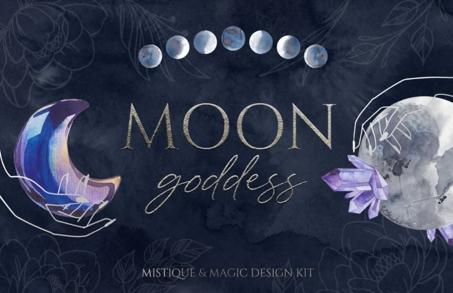 MOON GODDESS magic design kit min