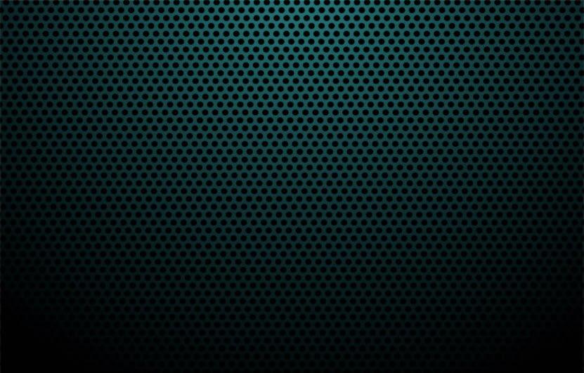 Blue carbon fiber texture background
