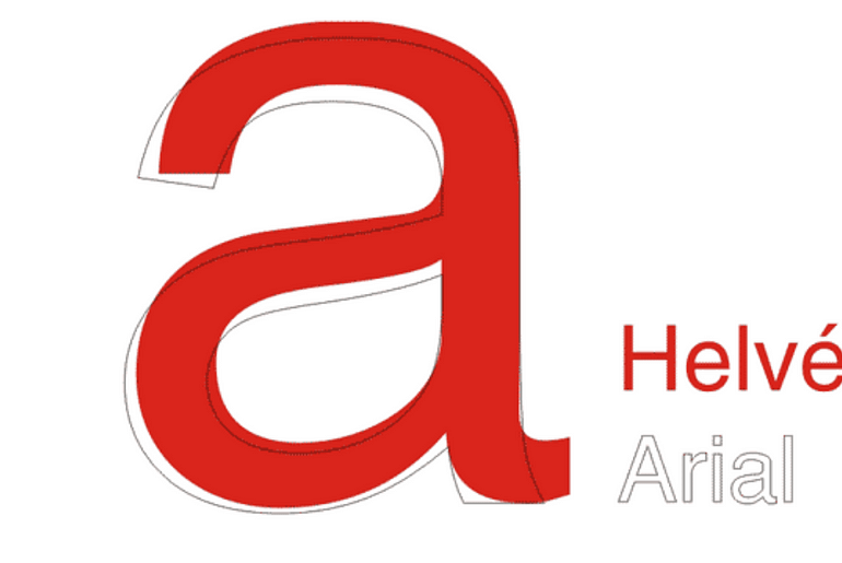 Helvetica vs Arial - Know The Real Difference