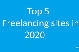 top 5 freelancing sites in 2020- webtopic