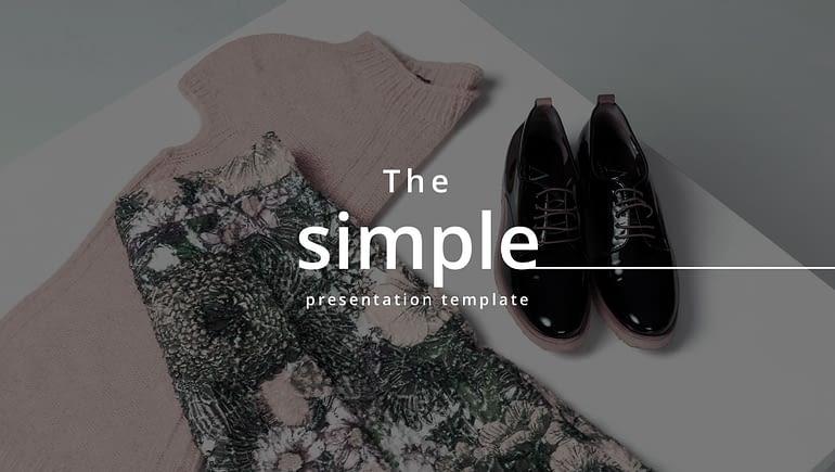 Thе minimal аnd simple Google slides templates Google Slides Templates