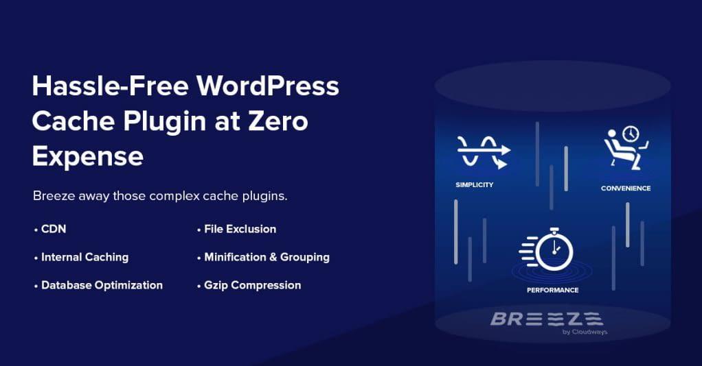 Breeze - Free WordPress Cache Plugins