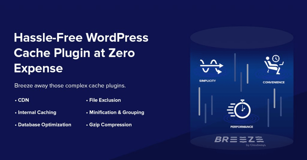 Breeze - Free WordPress Cache Plugins