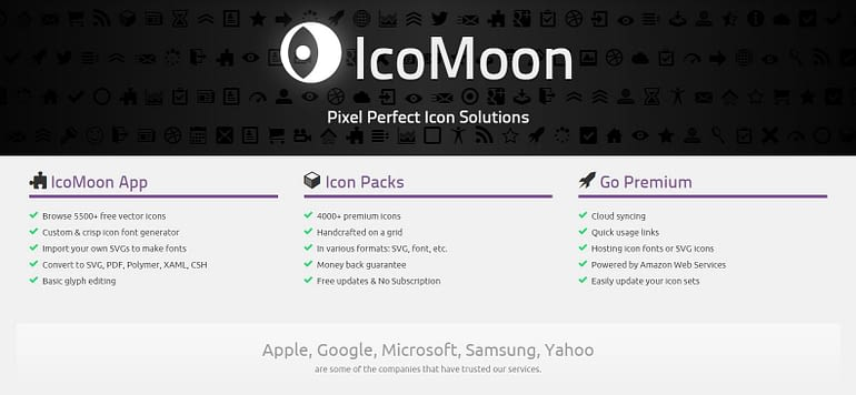 Icomoon - Free Icons Download