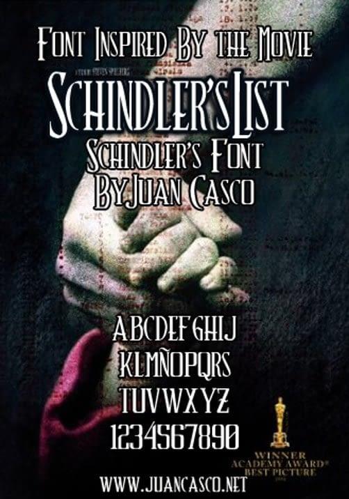 32. Schindlers List min