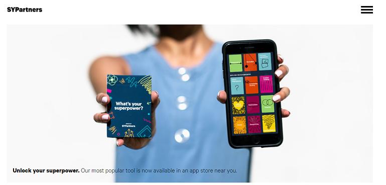 Unstuck creative mobile apps