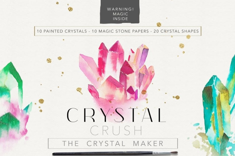 Crystal Crush the crystal maker min