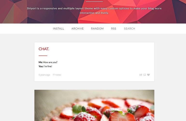 Free Tumblt Blog Theme