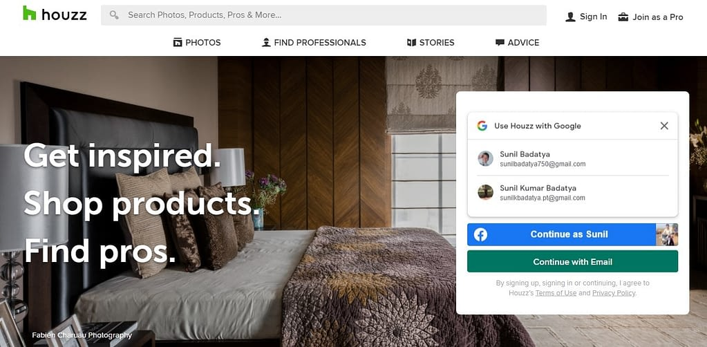 7. Houzz An app to be surprised and inspired min