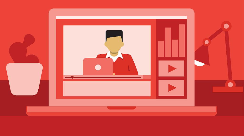 Uploading videos regularly