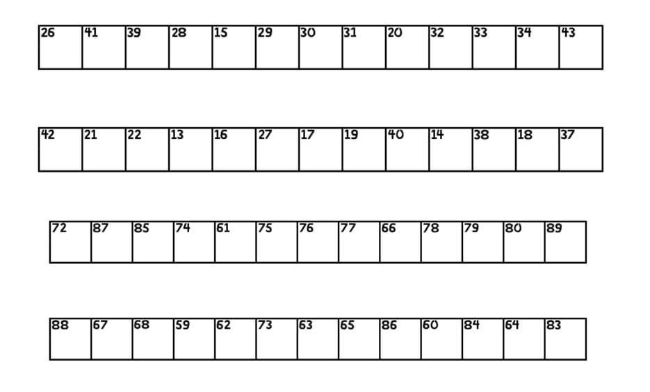 CROSSWORD - Best Number Fonts