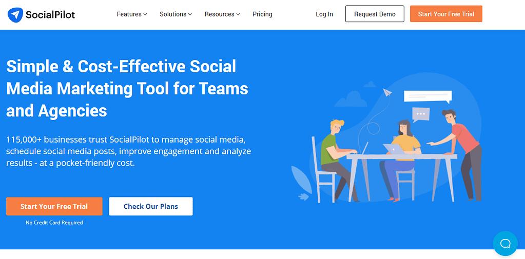 SocialPilot Hootsuite and Buffer Alternative