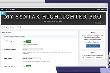 8th u My Syntax Highlighter