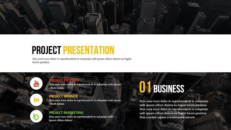 SIMPLE - Google Slides Business Presentation Google Slides Templates