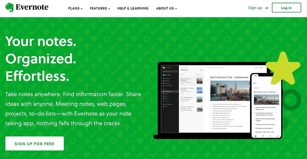 evernote moodboard ideas