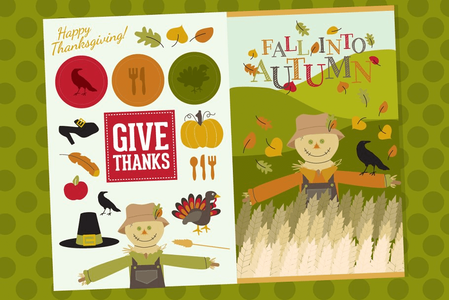 Autumn Harvest Fall Graphics