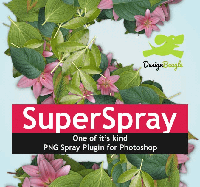 Super Spray Photoshop Add-Ons