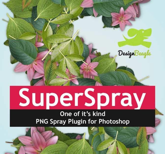 Super Spray Photoshop Add-Ons