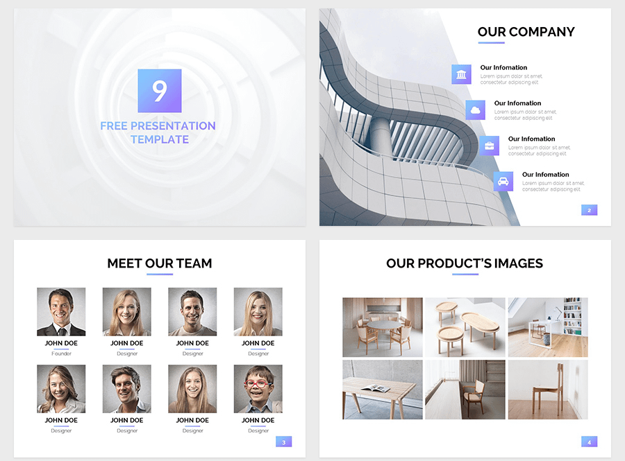 Nine Free Google Slides Themes