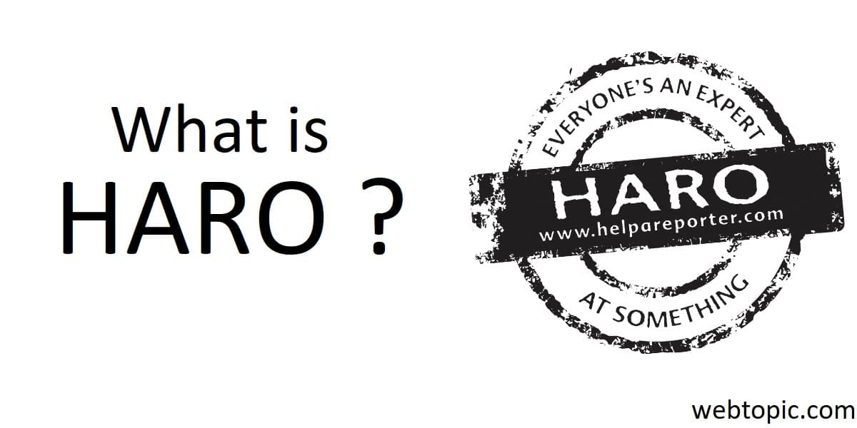 What is Haro? How to use it?