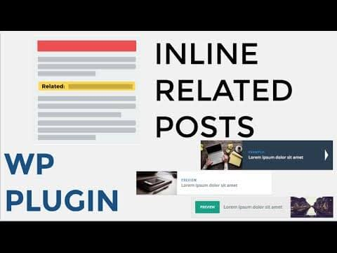 Related Post Plugin for WordPress