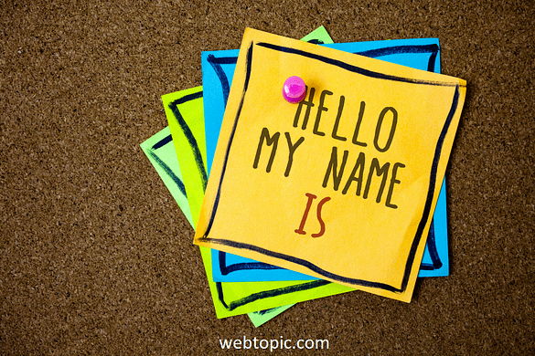 How to introduce yourself in blog - Webtopic