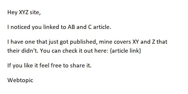 Check competitors backinks - Webtopic