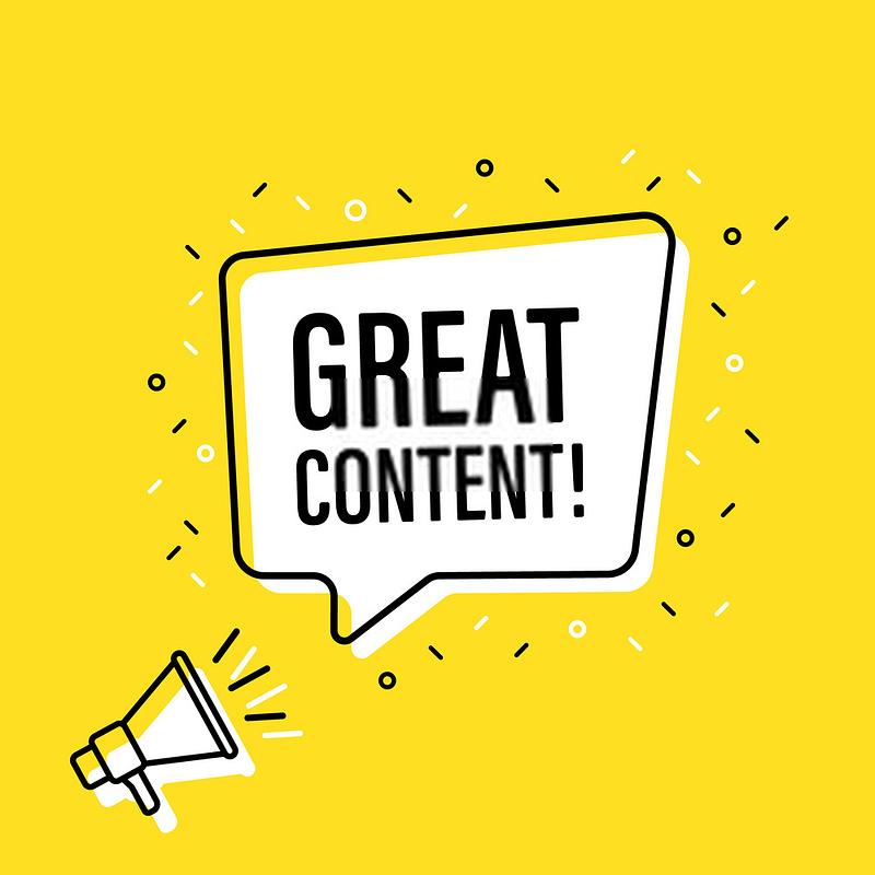 Make great content - Webtopic